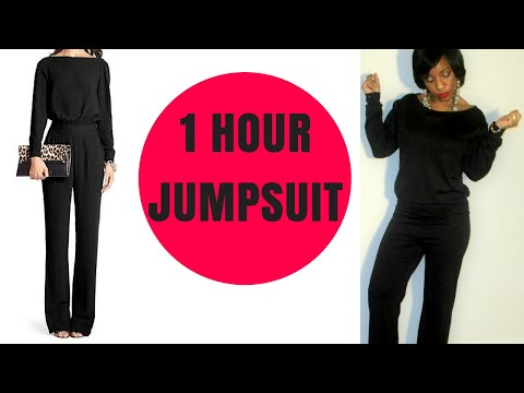 DIY | How to Make A Jumpsuit easy for beginners