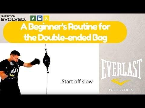 A Beginner's Routine on the Double-ended Bag