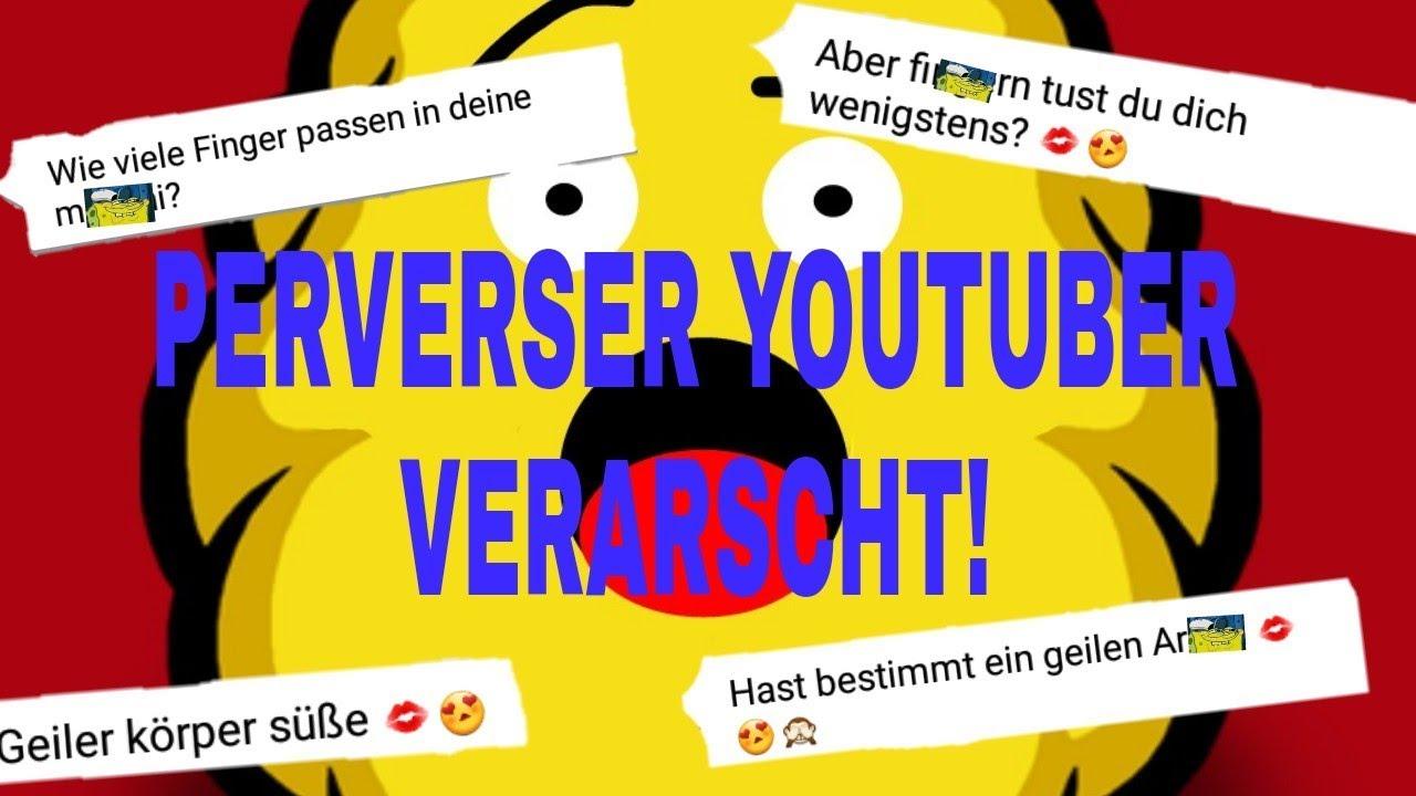 Perverser YouTuber auf Knuddels verarscht!