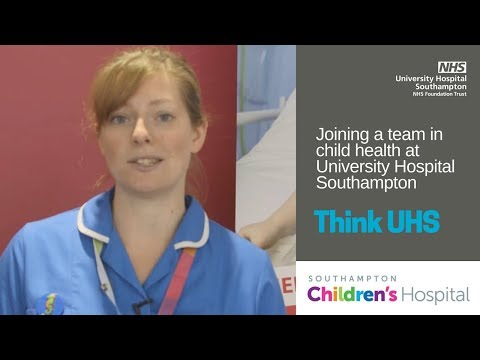UHS Jobs | Be part of the family at Southampton Children's Hospital