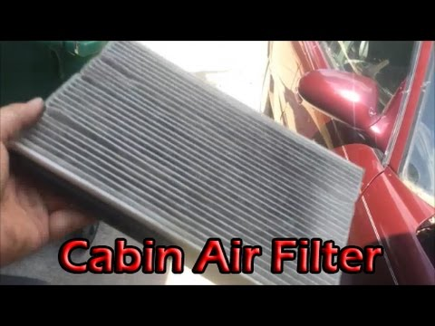 How to Change/Clean your Cabin Air Filter