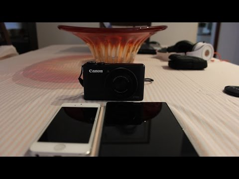 How To Connect Your Canon Camera S110 S120 To Wifi To Download Pictures To Iphone Or Andriod