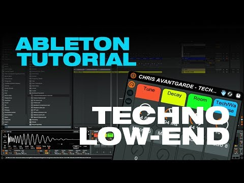 HOW TO MAKE TECHNO - LOW END // ABLETON TUTORIAL