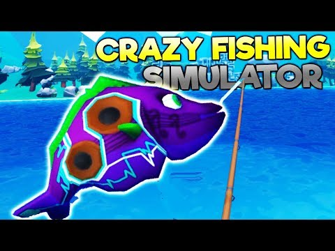 MAN CATCHES RARE MUTANT MUSICAL FISH NEAR HAUNTED FOREST! - Crazy Fishing VR HTC Vive Gameplay