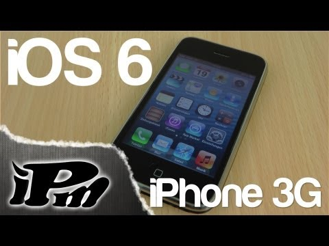 iOS 6 auf iPhone 3G, 2G, iPod Touch 2G, 1G installieren - ANLEITUNG