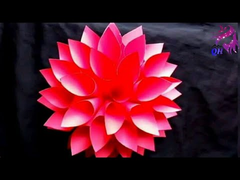 How to make Lotus Flower using Chart Papers | Homemade Products | Free time Works