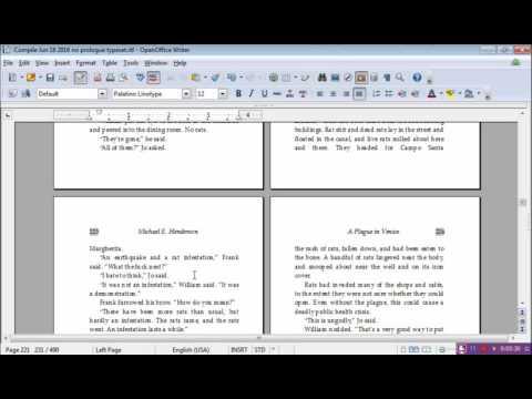 Drop Caps in OpenOffice