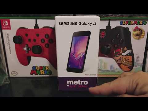 Metro by T-Mobile Samsung Galaxy J2 Unboxing