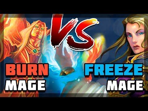 Hearthstone - Burn vs Freeze?