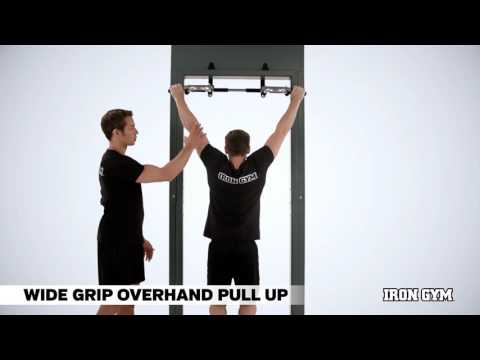 Wide Grip Overhand Pull Up - IRON GYM® Training Academy