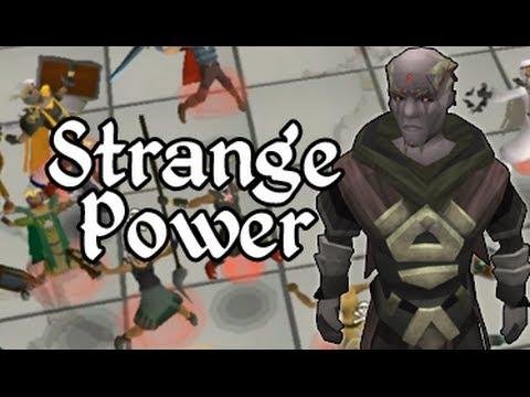 The Strange Power   Runescape History