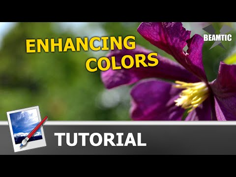 Enhancing colors in photos using levels in Paint.Net