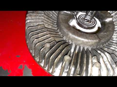 How to fix a fan clutch