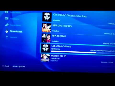 How to update a game on ps4