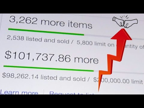How to INCREASE your SELLING limits on eBay! GET MORE SALES!