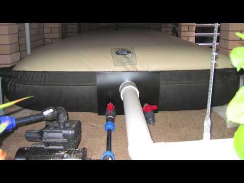 Installing a Rainwater Tank Part 3 - Storage
