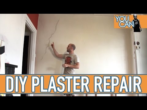 How To Repair Cracks In Plaster On A Brick Wall
