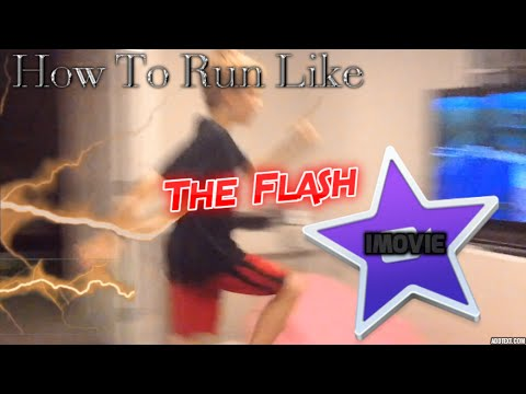 How To Run Like The Flash In iMovie