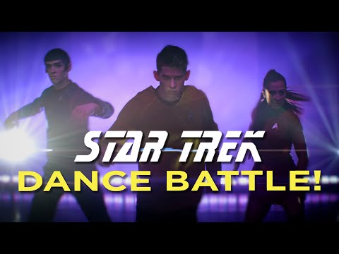 STAR TREK DANCE vs STORMTROOPERS! True Anamorphic! // ScottDW