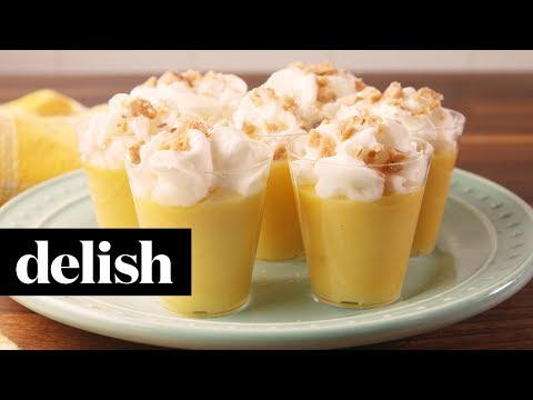 Caramel Apple Pudding Shots | Delish