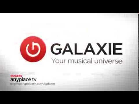 Galaxie Music on ROGERS Anyplace TV