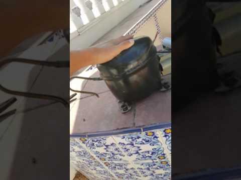 Turning a fridge compressor into a vacuum pump