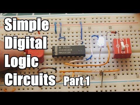 Simple Digital Logic Circuits   Part 1