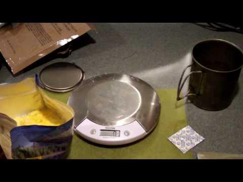MRE vs Freeze Dried