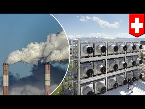 Climate change: New technology sucks carbon dioxide out of the air - TomoNews