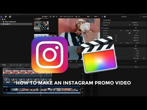 TUTORIAL | HOW TO MAKE INSTAGRAM PROMO VIDEOS