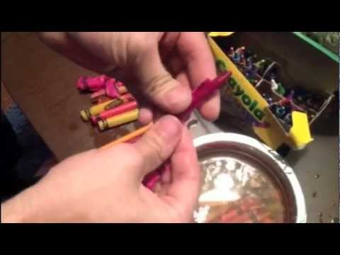 How to easily remove crayon labels