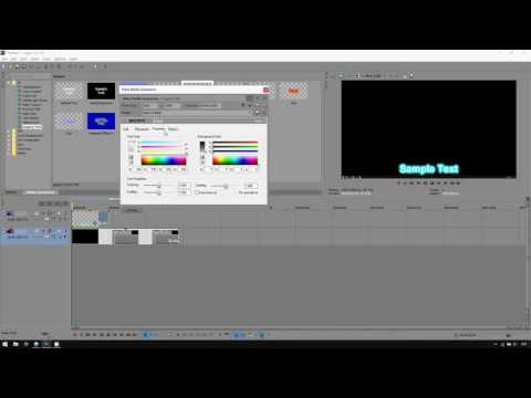 Sony Vegas Pro 13: How to Add Subtitle Text
