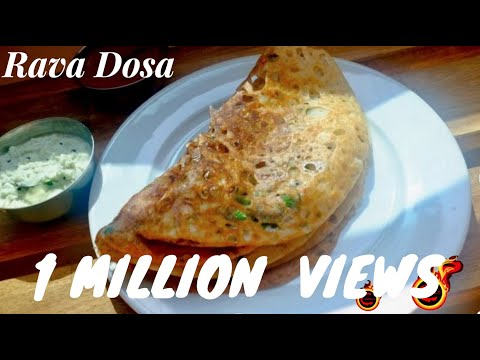 How to make Easy& Tasty  Rava Dosa at home /Tips and Tricks :Recipe no:67