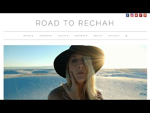 Road To Rechah, Travel Resource Website. (IT'S FINALLY FINISHED!!)
