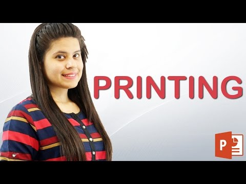 How to print PowerPoint Slides | Hindi Tutorial || Chapter 10 | Video 9