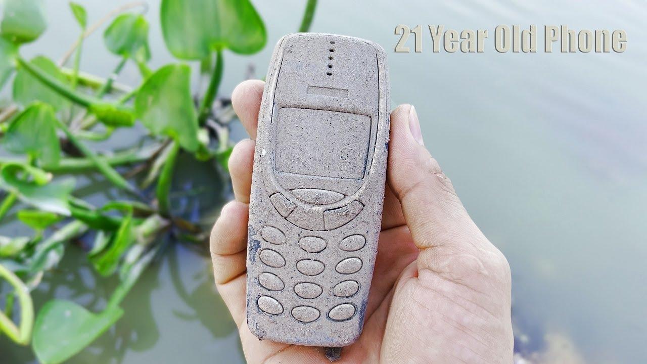 Restoring 21 Year old Broken Nokia phone - ASMR Restoration Videos