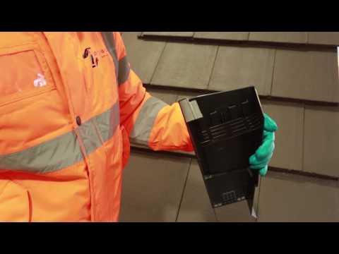 New Universal Dry Verge System Installation