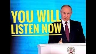 Nuclear words: Putin