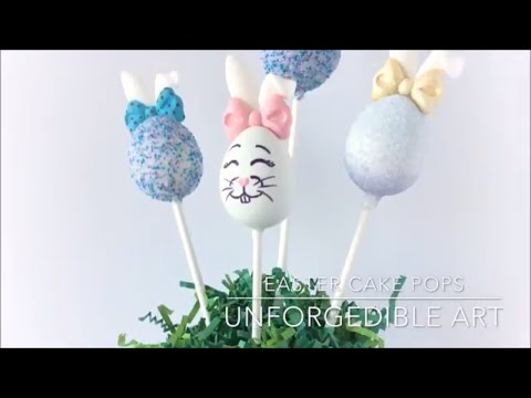 How to make Easter Cake Pops