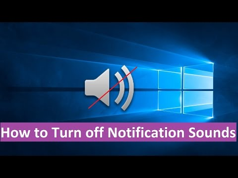 How to Disable Notification Sounds in Windows 10 - Howtosolveit