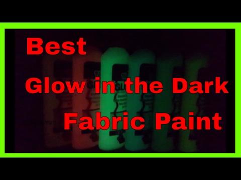 Best Glow in the Dark Fabric Paint - Tulip Dimensional Glow in the Dark Fabric Paint