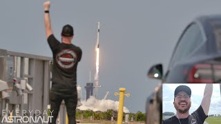 Reacting to the DM2 SpaceX/NASA Launch from 3 miles (5 KM) away