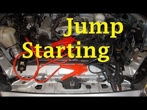 How to jump start your car properly