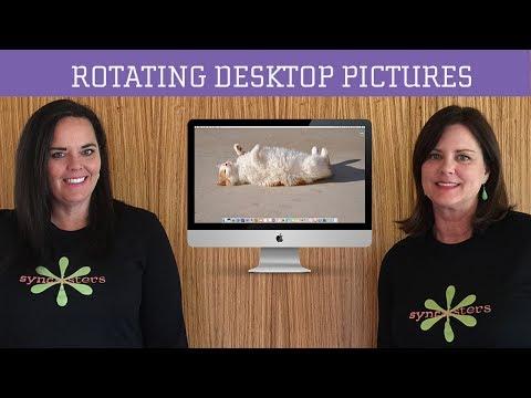 Rotating Desktop Pictures - Mac OS