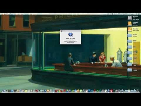 How to Record MAC computer screen with out any external software (free screen recorder 2014)
