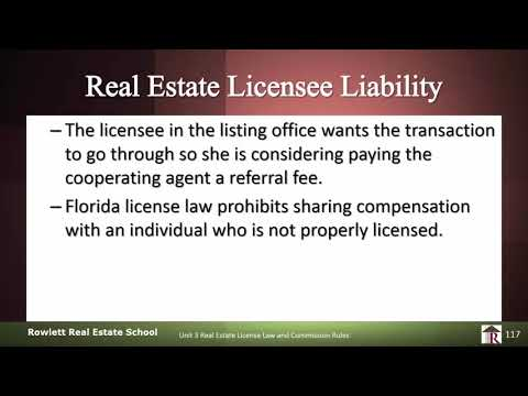 Licensee License Liability