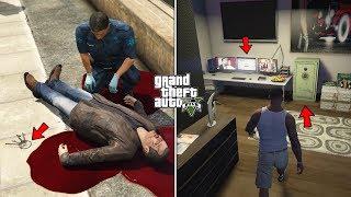 GTA 5 - What Happens If You Visit Michael's Dead Body? (Michael's Secret Room)