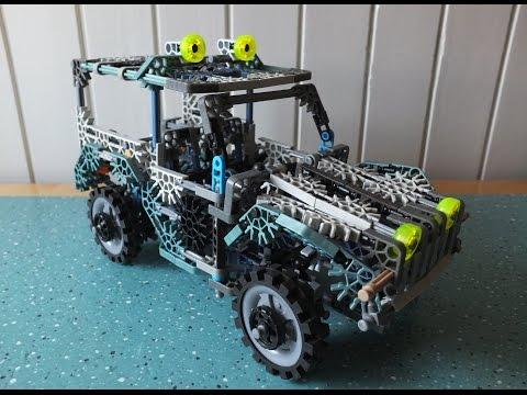 K'NEX 4x4 Jeep suspension & steering HD