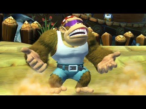 Donkey Kong Country Tropical Freeze - Walkthrough Part 3 - World 3