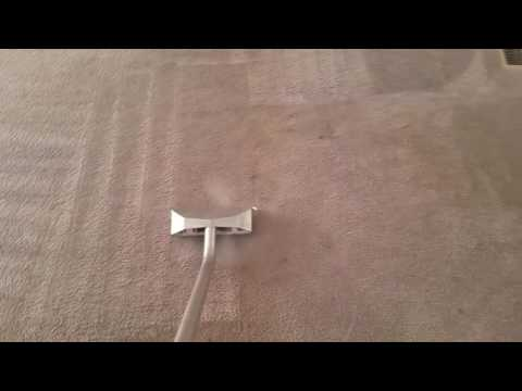 Cleaning heavy soiled carpet with revive-it rocket